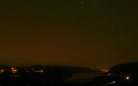 Northern Lights Oregon by Northern Lights Spotted Near Portland Oregon Bruce
