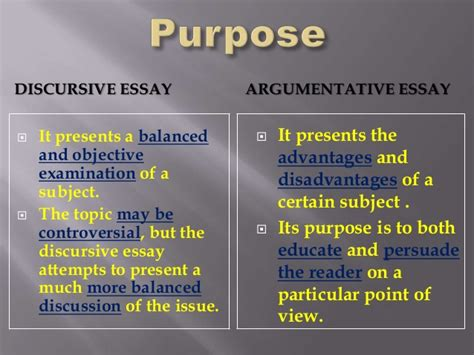 What Is A Discursive Essay by Discursive Essay