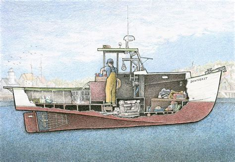 great lobster boat a small new england lobster boat in the downeast style