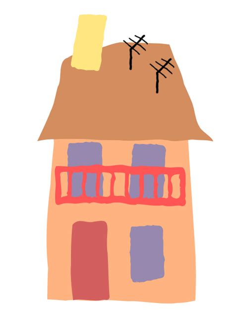 bytes crooked houses clipart crooked house 07