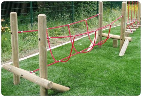 backyard rope bridge burma rope bridge made in the uk by playground