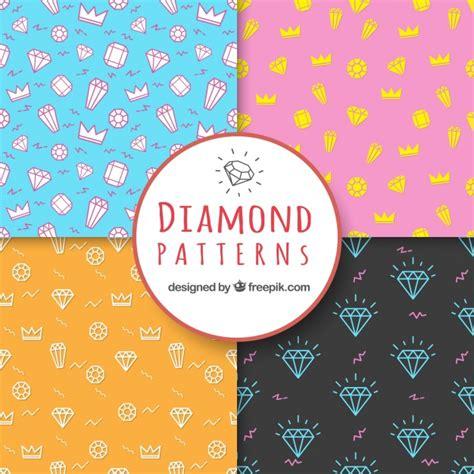 diamond pattern vector ai several diamond patterns vector free download