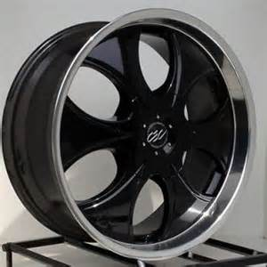 Chevy Truck Wheels Black 20 Inch Black Rims Wheels Chevy Truck Silverado 1500 Tahoe