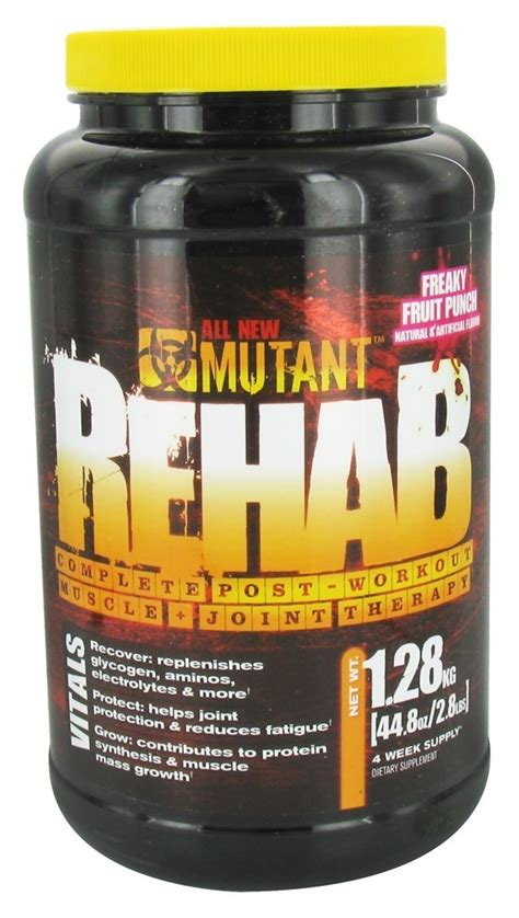 Freakys Detox by Buy Mutant Rehab Complete Post Workout Joint