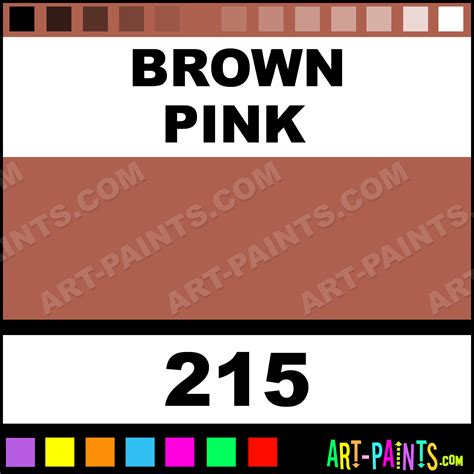 brown pink artist paints 215 brown pink paint brown pink color daler rowney artist
