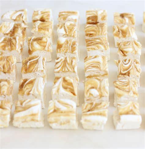 Handmade Marshmallows - marshmallows malted caramel swirl