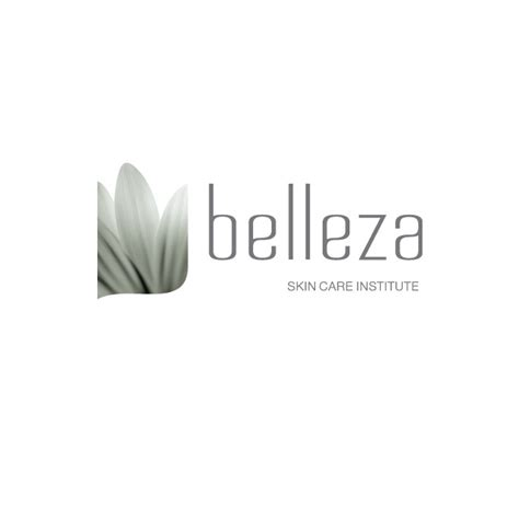 Belleza Skincare belleza skin care institute logos
