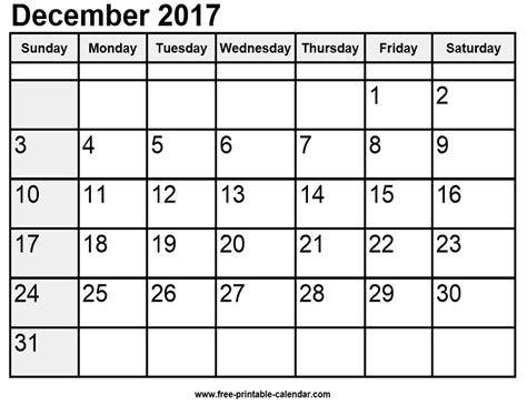printable calendar 2017 waterproof december 2017 printable calendar waterproof monthly