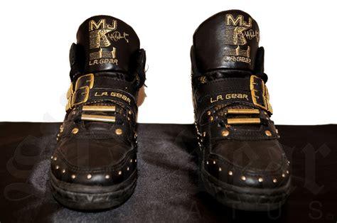 michael jackson vintage black gold la gear billie jean