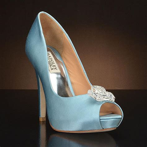 glass slipper shoes my glass slipper blue wedding shoes featured on cbs news