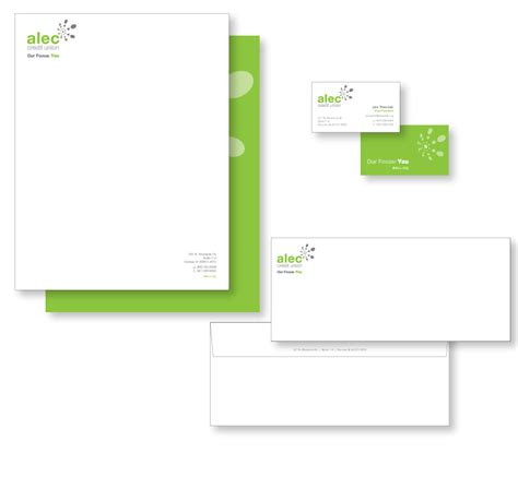 Union Bank Letterhead Dengler Design