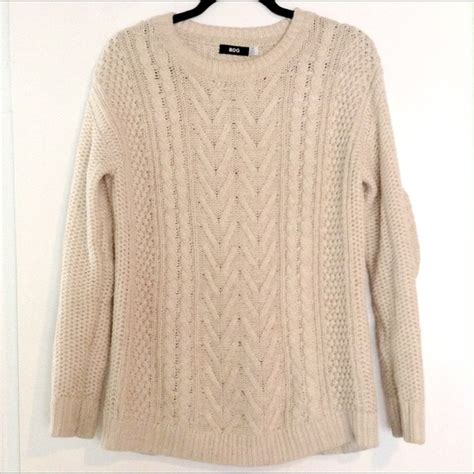 oversized chunky cable knit sweater 42 bdg sweaters oversized cozy chunky cable