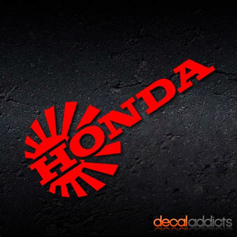 jdm honda sticker honda jdm rising sun vinyl car decal sticker civic