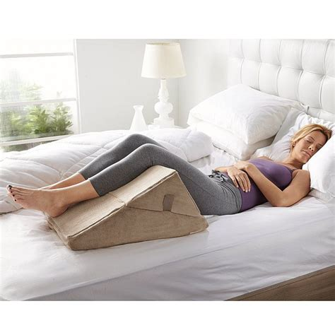 brookstone bed wedge pillow bed wedge pillow bedrooms pinterest
