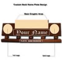 custom desk name plates plaquesandpatches
