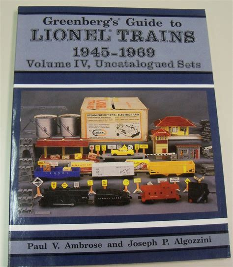 s guide to lay volume 1 books out of print part 1 postwar lionel reference books