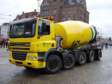 Cement European Classics ginaf mebin steer mixer truck