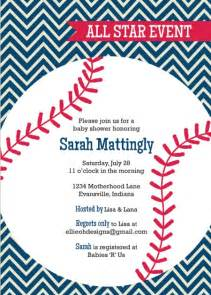 Baseball Baby Shower Invitation Templates by Baseball Baby Shower Invitation