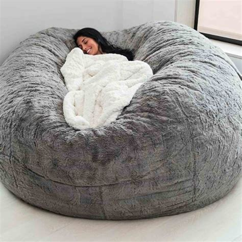 lovesac bigone the bigone bean bag from lovesac popsugar family