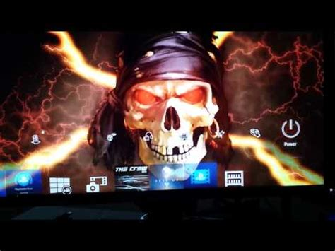 ps4 halloween themes ps4 themes 1 dynamic pirate halloween skull theme youtube