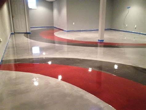 red concrete floor coating youtube 132 best images about diy epoxy floors counters on