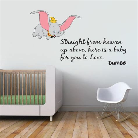 Dumbo Wall Stickers 25 best ideas about dumbo nursery on pinterest dumbo