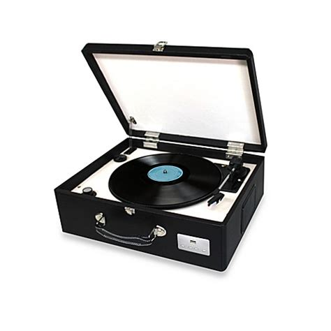 bed bath and beyond turntable buy electrohome archer turntable stereo system from bed
