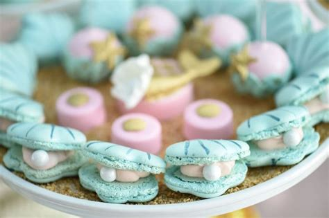 pearl themed events kara s party ideas mermaid oasis themed birthday party