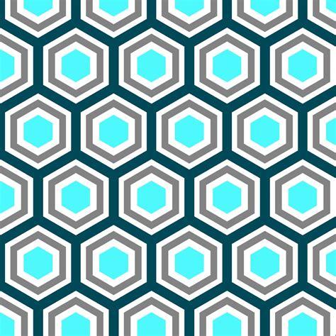 pattern hexagon happy habitat october 2012