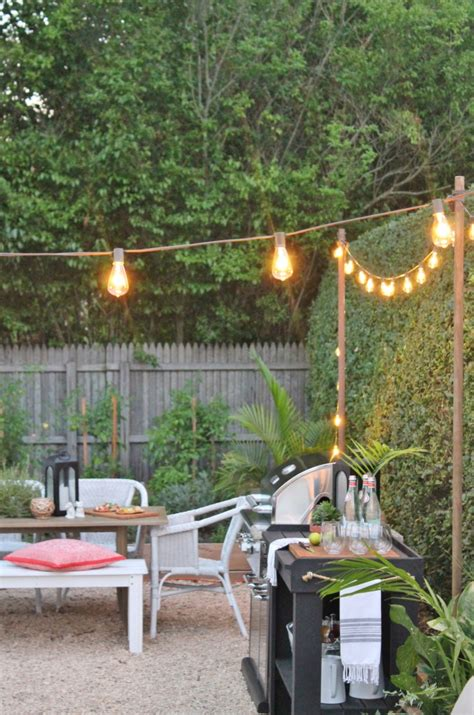 Outdoor Summer String Lights Summer Patio String Lights Best 25 Backyard String Lights Ideas On Patio How To Hang Patio