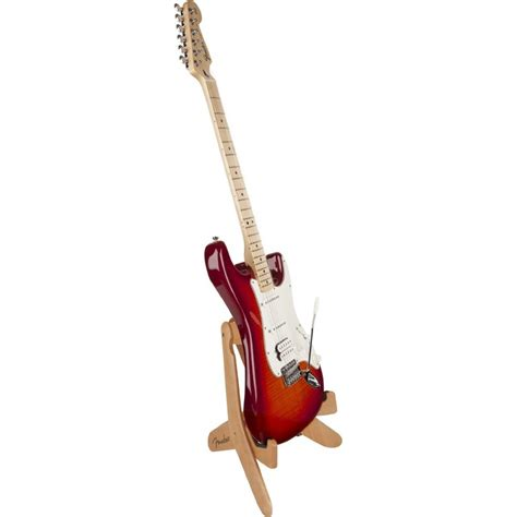 Tripod Gitar fender knife folding wooden electric guitar stand