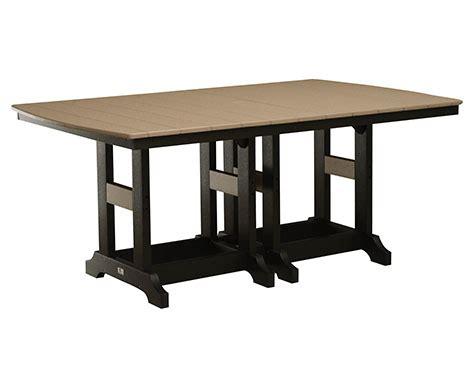 X Bar Table 44 X 72 Rectangular Bar Table Labadies Patio Furniture