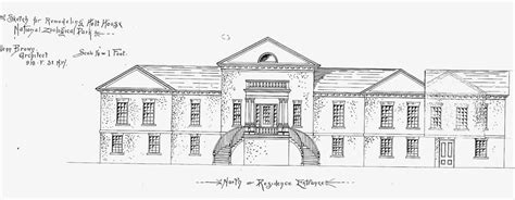 architectural history historic preservation ahhp holt house structural alterations records relating to