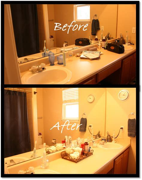 Delightfully Organized: Quick & Simple Bathroom Vanity Makeover