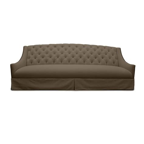 tufted linen sectional sofa burley tufted linen sofa