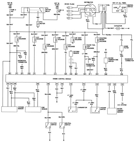 87 mazda b2200 ignition wiring diagram 87 get free image