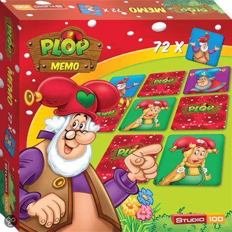 Studio Spelletjes by Bol Plop Memo Spel Studio 100 Speelgoed