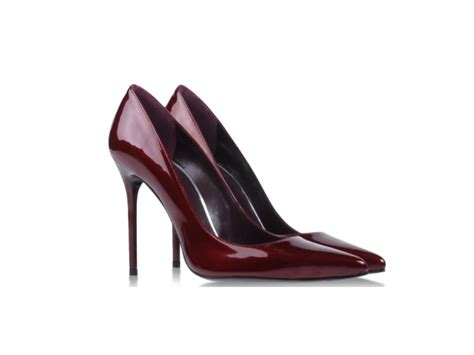 wine colored pumps shoe trend wine colored pumps fashion trend report