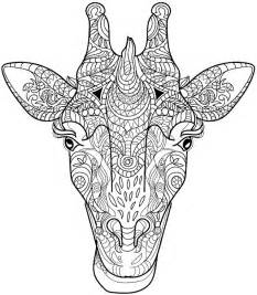 Animals 22 advanced coloring page