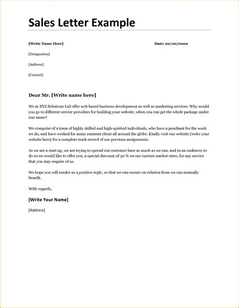 Customer Discount Letter Sle How To Write A Sales Letter Of Introduction