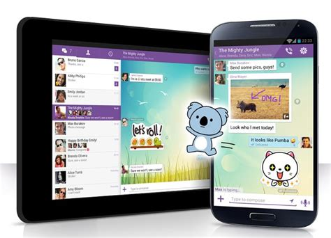 viber for android viber 4 0 introduces push to talk and new sticker market