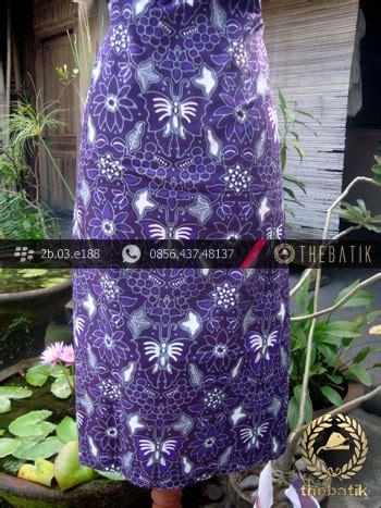 Sogan Cape Kupu jual kain batik cap tulis jogja motif kupu anggur ungu