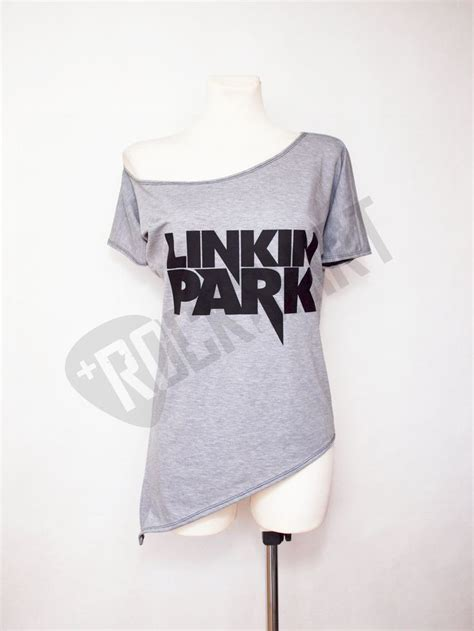 shoulder tunic asymmetric tshirt for rock shirt