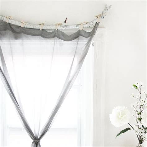 tree branch curtain rods tree branch curtain rod 15 diy tutorials guide patterns