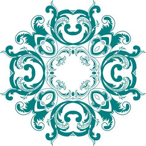 retro pattern png clipart vintage floral style design 6