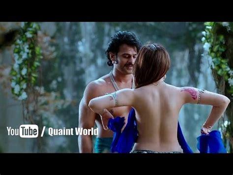 Tamannaah Bhatia Backless Scene From The Movie Baahubali Youtube