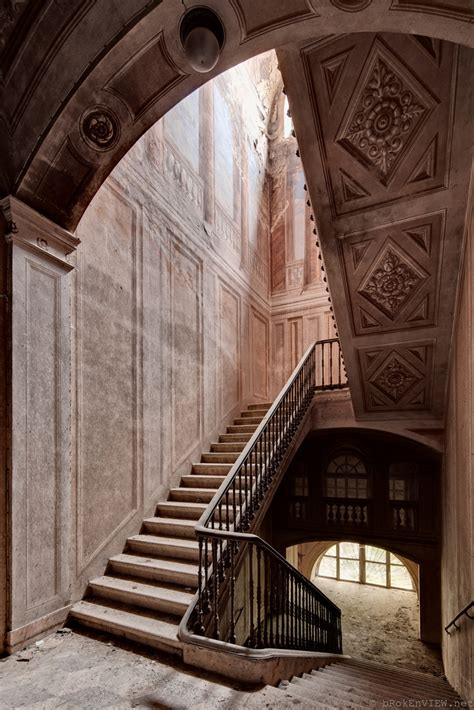 amazing staircases amazing staircase in an abandoned castle in italy