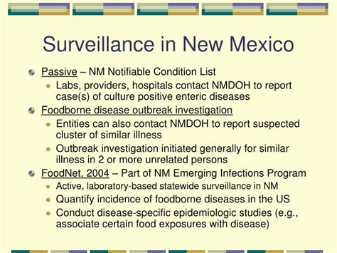 foodborne disease surveillance   mexico
