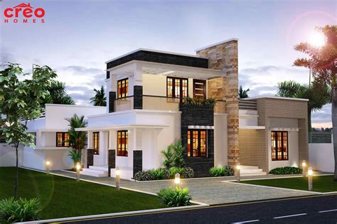 modern home design org without roof small modern house plans one floor best