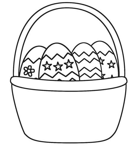coloring pages for easter basket easter basket picture coloring page batch coloring